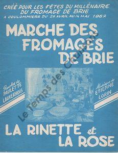 Marche des fromages de Brie