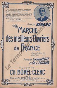Marche des meilleurs ouvriers de France