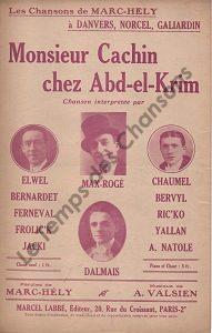 Monsieur Cachin chez Abd-el-Krim
