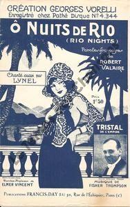 Ô nuits de Rio