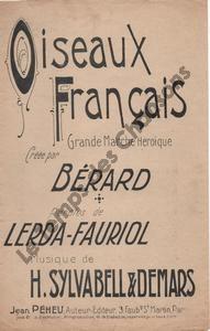 Oiseaux Français
