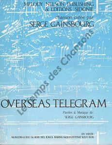 Overseas telegram