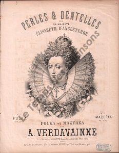 Perles et dentelles de sa Majesté Elisabeth d'Angleterre