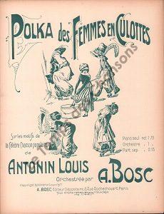 Polka des femmes en culottes