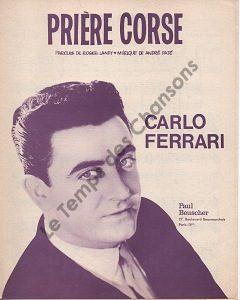 Prière Corse