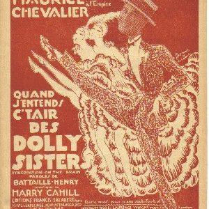 Quand j'entends c't'air des Dolly Sisters