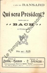 Qui sera président ?