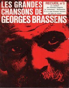 Grandes chansons de Georges Brassens (Les)