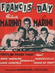 Francis  Day présente Marino Marini