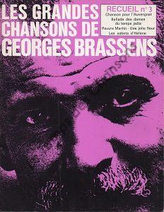 Grandes chansons de Georges Brassens ( Les)