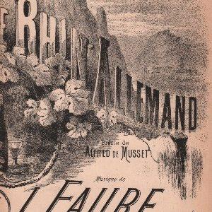 Rhin Allemand (Le)