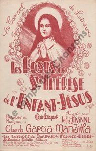 Roses de Sainte-Thérèse de l'enfant Jésus  (Les)