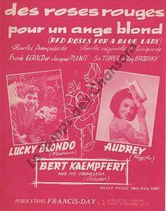 Des roses rouges pour un ange blond