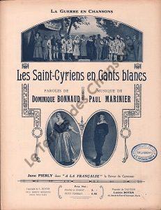 Saint-Cyriens en gants blancs (Les)