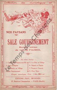 Sale gouvernement