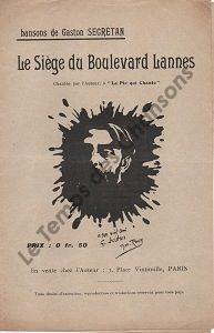Siège du Boulevard Lannes (Le)