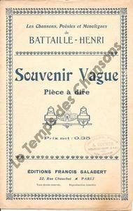 Souvenir vague
