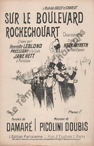Sur le Boulevard Rochechouart