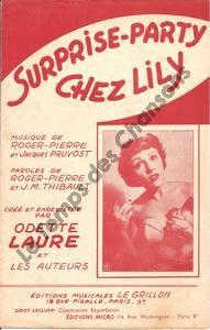 Surprise-party chez Lily