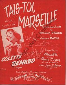 Tais-toi, Marseille