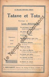 Tatave et Toto