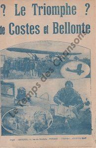 Triomphe de Costes et Bellonte (Le)