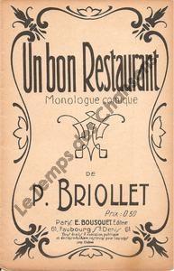 Bon restaurant (Un)