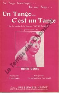 Tango c'est un tango (Un)