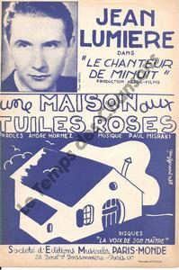 Maison aux tuiles roses  (Une)