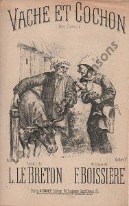 Vache et cochon