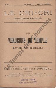 Vendeurs du temple (Les)