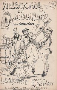 Vielsaucisse et Landouillard