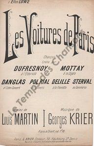 Voitures de Paris (Les)