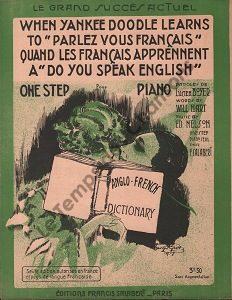 When yankee doodle learns to «Parlez vous Français»