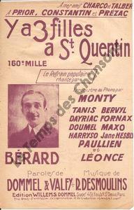 Y a 3 filles à St Quentin