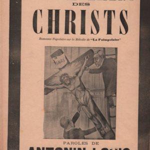 Enlèvement des Christs des tribunaux (L')