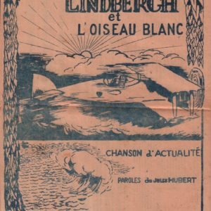 Lindbergh et l'oiseau blanc