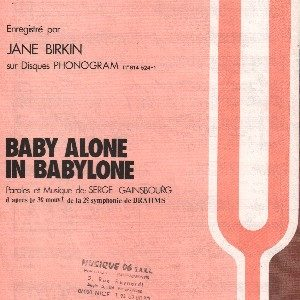 Baby alone in Babylone