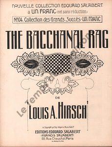 Bacchanal rag (The)