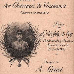 Ballade des Chasseurs de Vincennes