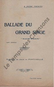 Ballade du grand singe
