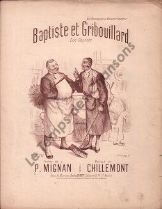Baptiste et Gribouillard