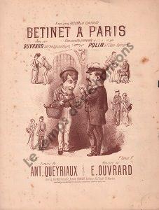 Betinet à Paris