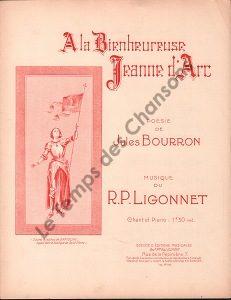 A la bienheureuse Jeanne d'Arc