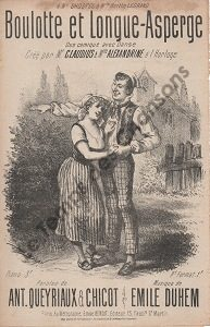 Boulotte et longue asperge