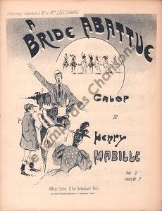 A bride abattue