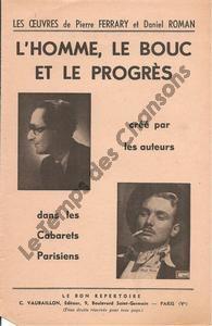 Homme, le bouc et le progrès (L')