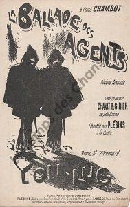 Ballade des agents ( La)