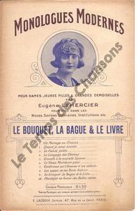Bouquet, la bague et le livre (Le)