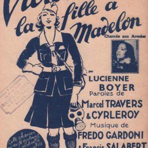 Victoire … la fille à Madelon